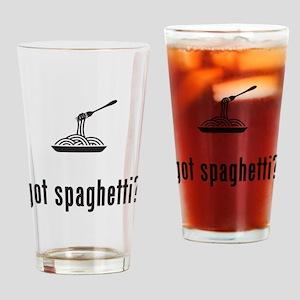 Spaghetti Drinking Glass