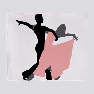 Dancing Throw Blanket