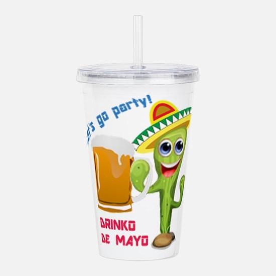 Drinko De Mayo Acrylic Double-Wall Tumbler