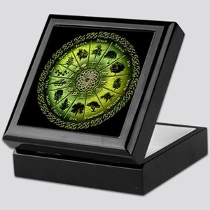 Druid Tree Calendar Keepsake Box