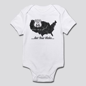 Retro Route66 Infant Bodysuit