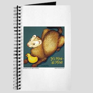 Ferret & Rubber Ducky Journal