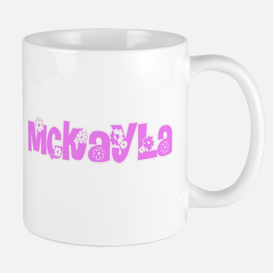 Mckayla Flower Design Mugs