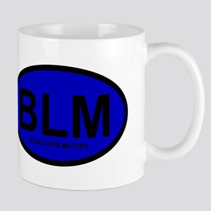 BLM Blue Lives Matter Mug
