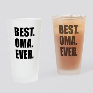 Best Ever Oma Drinkware Drinking Glass