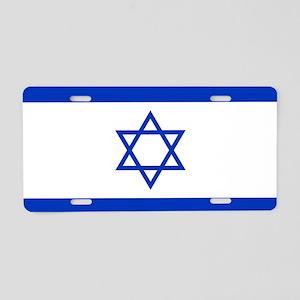 Flag Of Israel Aluminum License Plate