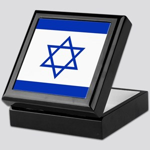 Flag Of Israel Keepsake Box