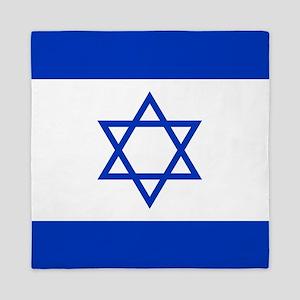 Flag Of Israel Queen Duvet