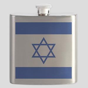 Flag Of Israel Flask