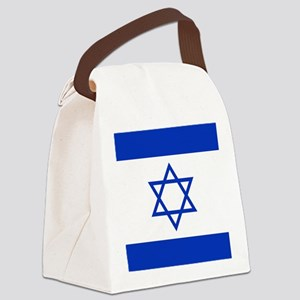 Flag Of Israel Canvas Lunch Bag