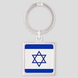 Flag Of Israel Keychains