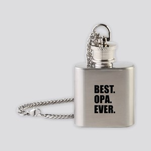 Best Ever Opa Drinkware Flask Necklace
