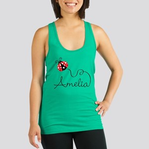 Ladybug Amelia Racerback Tank Top