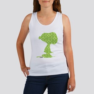 Snoopy Clover Pattern Tank Top