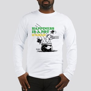Happiness is a Pot o' Gold Long Sleeve T-Shirt