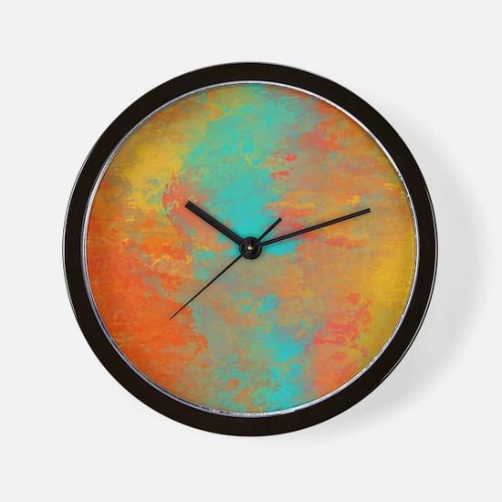The Aqua River Wall Clock