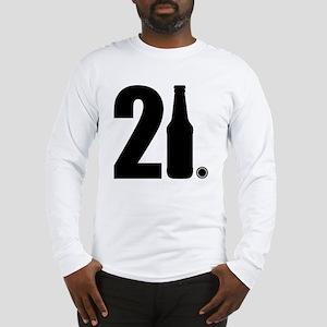 21 beer bottle Long Sleeve T-Shirt