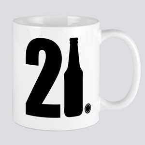 21 beer bottle Mug