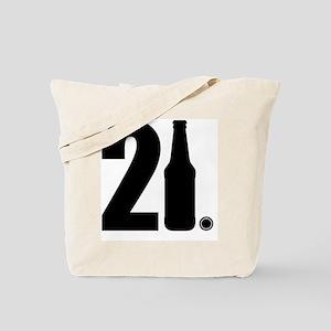 21 beer bottle Tote Bag