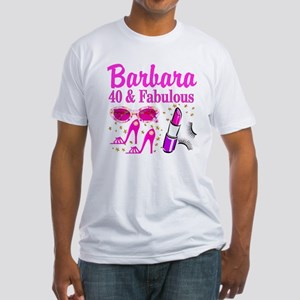 40TH PARTY GIRL Fitted T-Shirt