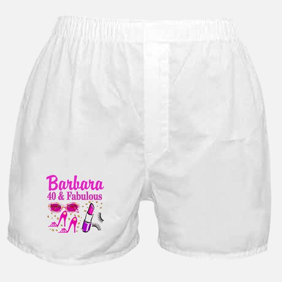 40TH PARTY GIRL Boxer Shorts