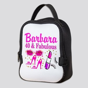 40TH PARTY GIRL Neoprene Lunch Bag