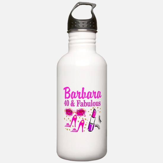40TH PARTY GIRL Water Bottle