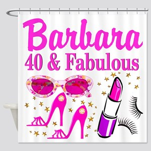 40TH PARTY GIRL Shower Curtain