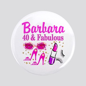 40TH PARTY GIRL Button