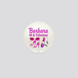 40TH PARTY GIRL Mini Button
