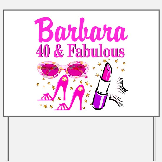 40Th Birthday 40th Birthday Yard Signs