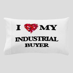I love my Industrial Buyer hearts desi Pillow Case