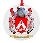 MacMeekin Round Ornament
