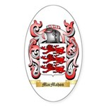 MacMahon Sticker (Oval 50 pk)