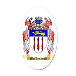 MacLysaught Oval Car Magnet