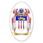 MacLysaught Sticker (Oval 50 pk)