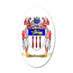 MacLysaught 20x12 Oval Wall Decal
