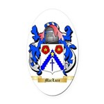 MacLure Oval Car Magnet