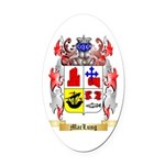 MacLung Oval Car Magnet