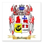 MacLung Square Car Magnet 3