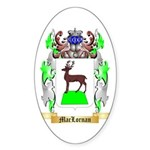 MacLornan Sticker (Oval 50 pk)