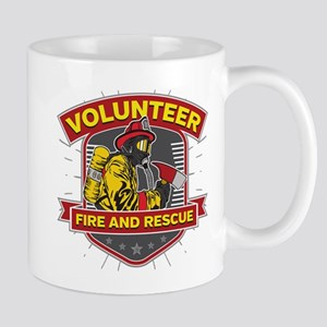 Fire and Rescue Volunteer Mug