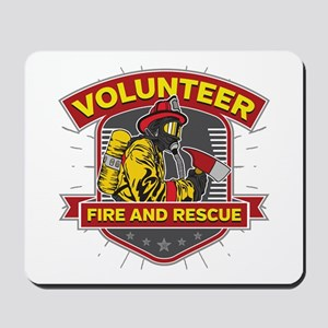 Fire and Rescue Volunteer Mousepad
