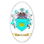 MacLinden Sticker (Oval 50 pk)