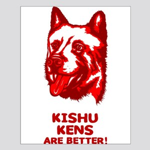 Kishu Ken Small Poster