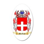 MacLese 20x12 Oval Wall Decal