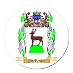 MacLernan Round Car Magnet