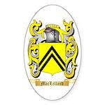 MacLelland Sticker (Oval 10 pk)