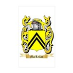 MacLellan Sticker (Rectangle 50 pk)