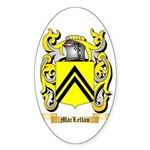MacLellan Sticker (Oval 50 pk)